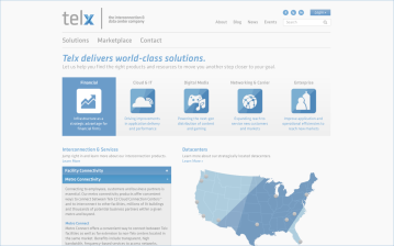 Telx.com services screen layout. National data center company in New York. https://web.archive.org/web/20140227011630/http://www.telx.com/